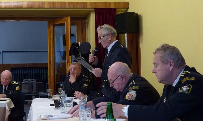 Ze zasedání Klubu zasloužilých hasičů Chodska.