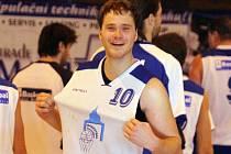 Ilustrační snímek ze zápasu basketbalistů Jiskry Domažlice.