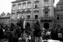 Iniciátor demonstrací v Domažlicích Hynek Faschingbauer. Foto: Zdeněk Hartl