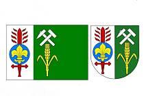 Z řady návrhů zvítězily v Meclově tyto obecní symboly.