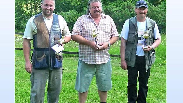 Tři nejúspěšnější střelci.