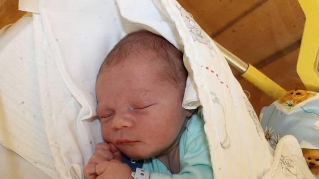 Štěpán Blažek ze Staňkova se narodil v domažlické porodnici 28. prosince v 18:32 (3640 g, 50 cm).