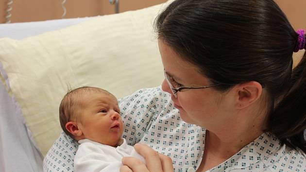 Karolína Rynešová ze Kdyně se narodila v klatovské porodnici 15. ledna v 12.14 hodin (3430 g, 50 cm).
