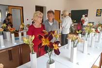 Prodejní výstava květin ve Kdyni.