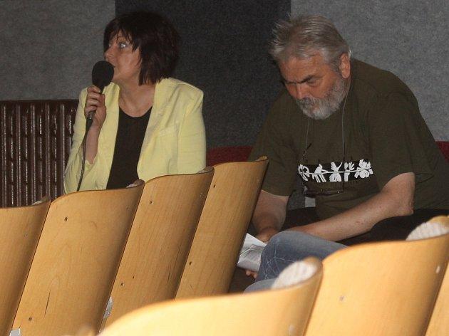 Jana Dvorská s Miroslavem Kašparem