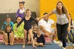 Cena Chodska ve sportovní gymnastice v Domažlicích.