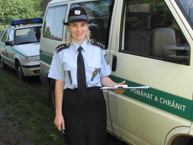 Policejní mluvčí Vladislava Čejková. Jejím prostřednictvím vyzývá Policie ČR  občany k opatrnosti.