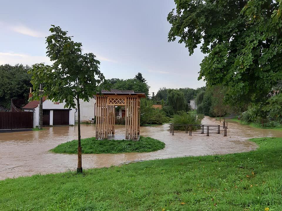 Blesková povodeň na Domažlicku.