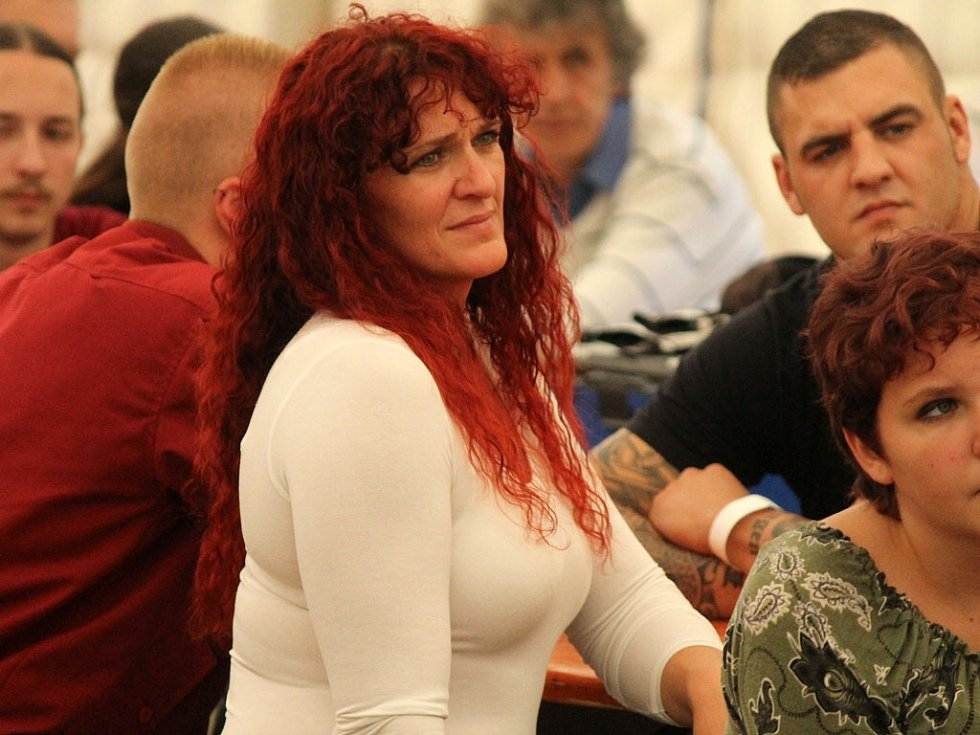Mezinárodní mistrovství ČR ve zvedání kamene v Babylonu. Soutěž žen.
