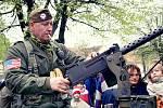 Oslavy osvobození ve Staňkově.