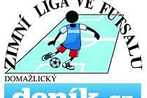 Logo zimní liga Domažlického deníku ve futsalu.