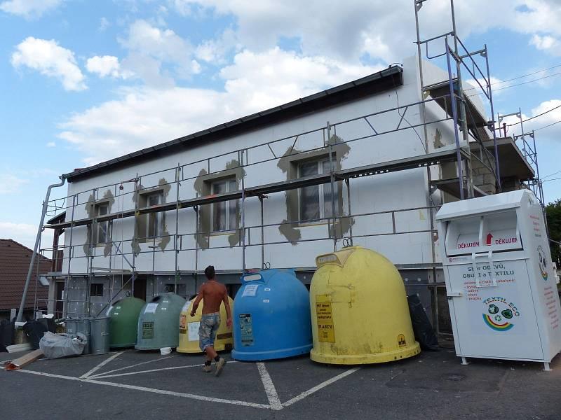Díky zateplení se změní tepelné vlastnosti i vzhled budovy úřadu.