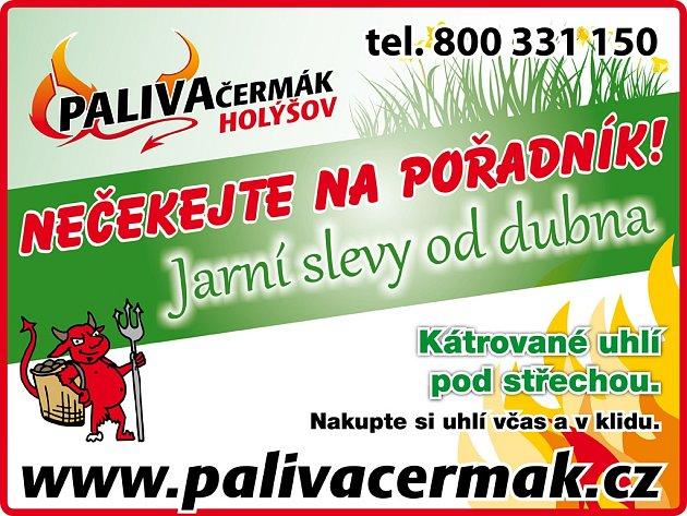 Paliva Čermák/reklama