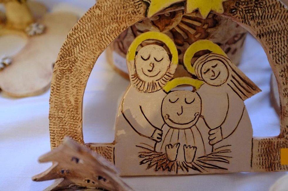 Z Vánoční výstavy v Horšovském Týně.