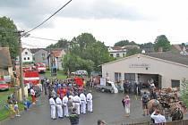 Oslavy 90. výročí založení SDH Čermná.