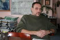 Starosta Klenčí pod Čerchovem Karel Smutný.