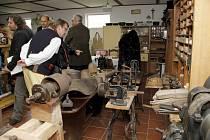 Slavnostní otevření nové expozice Muzea techniky a řemesel v Kolovči.