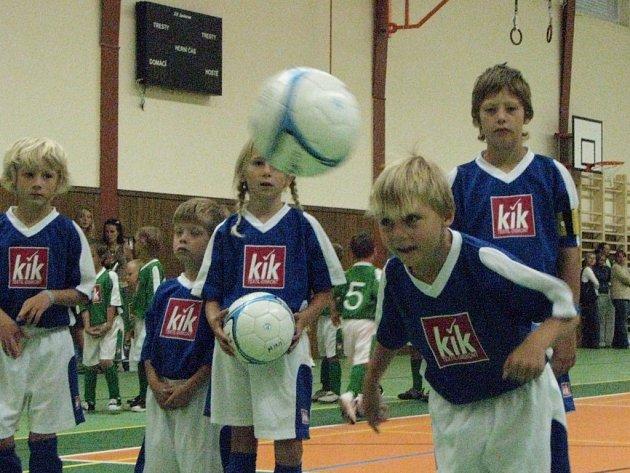 Standardně mají školáci dvě hodiny tělocviku týdně. Náš snímek je z Masarykovy ZŠ Kdyně.