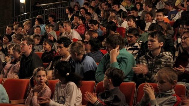 Publikum v kině Horšovský Týn. Ilustrační foto