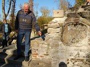 V úterý byl představen projekt, který pomůže zachovat odkryté zbytky staveb v zaniklé Lučině.
