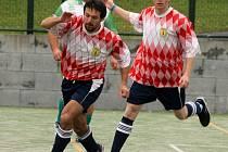 Futsal ve Všerubech.