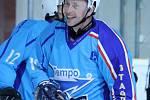 Z utkání hokejistů HC Staňkov s Čechií Příkosice.