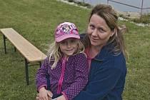 Návštěvnicí byla i Eliška Steidlová s maminkou Marcelou.