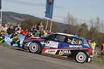 Roman Kresta do tragické nehody letošní Mohul Šumava Rallye vedl.