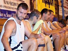Z utkání basketbalistů Jiskry Domažlice - ilustrační snímek.