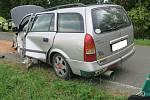 Nehoda u Všekar.
