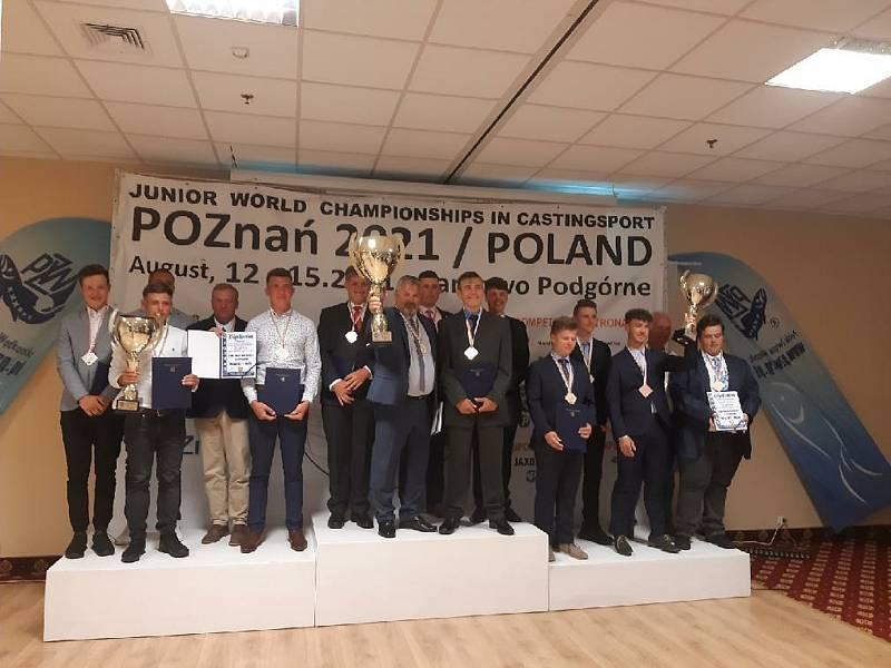 Vítězný tým hochů, mistři světa.