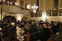 Tříkrálový koncert v Klenčí pod Čerchovem 19. ledna 2019.