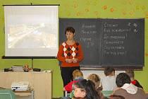 Projektový den k Evropskému dni jazyků na Základní škole v Poběžovicích.