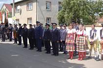 Oslavy 110. výročí založení SDH Milavče.