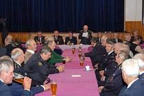 Setkání Aktivu zasloužilých hasičů v Domažlicích.