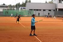 Dubnové turnaje mládeže na kurtech LTC Domažlice se možná odehrají v jiném pozdějším termínu.