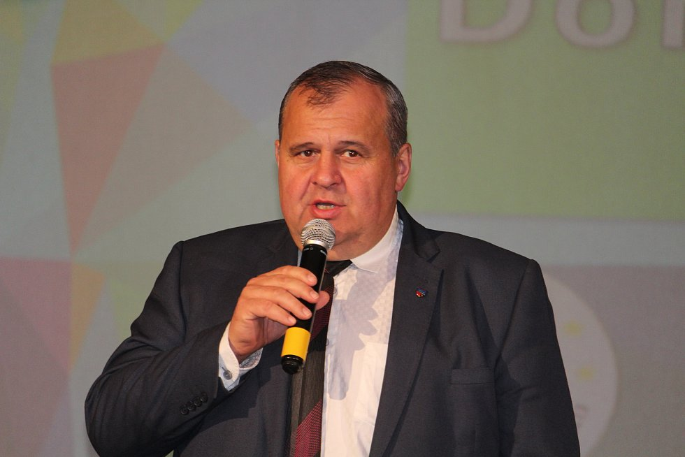 Přítomné přivítal i předseda Spolku Domažlicko Libor Picka.