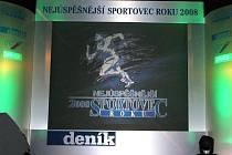 Nejúspěšnější sportovci Domažlicka se sešli v Kulturním domě v Holýšově.