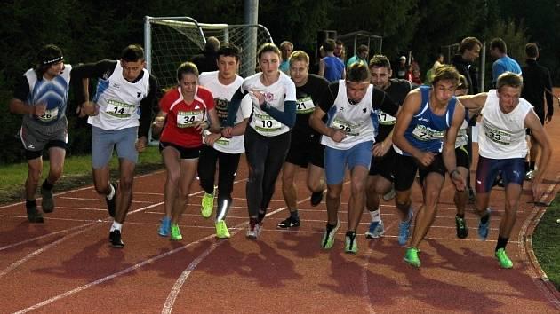 Z 9. ročníku Bělské míle, čtvrtečního podvečerního závodu v Bělé nad Radbuzou.