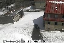 Webkamera zachycuje stav na Čerchově.