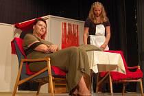 Z jedné z předchozích her poběžovických ochotníků - Otylka.