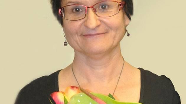 Romana Schuldová při slavnostním zahájení jubilejní výstavy.