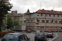 Původní domažlická nemocnice