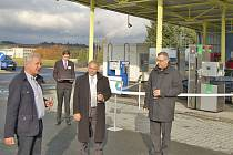 V Cihlářské ulici v Domažlicích byla otevřena plnící stanice CNG – stlačeného zemního plynu.