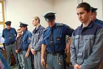 Před soud se dostali (zprava) Pavel Frous z H. Týna, Jakub Svačina z Domažlic a Matěj Němec ze Stráže.