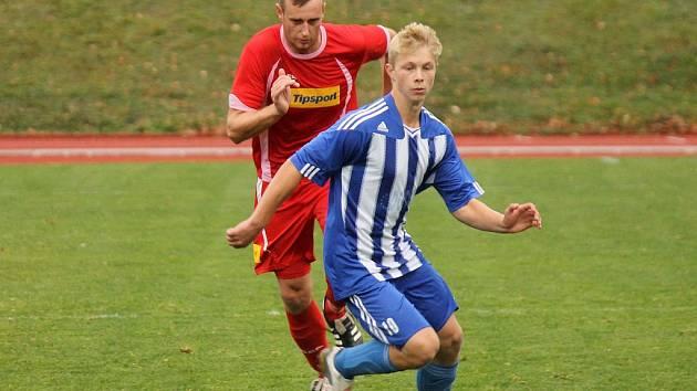 David Tumpach (na snímku z podzimního utkání Jiskry) byl v Německu vyhlášen nejlepším hráčem turnaje.