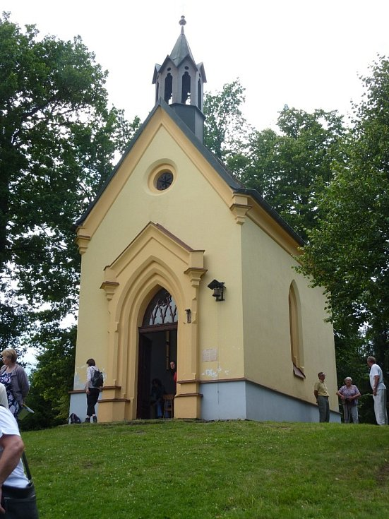 Mše u sv. Markéty nad Libkovem.