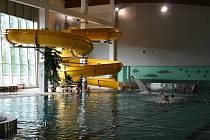 Z kdyňského centra vodní zábavy.