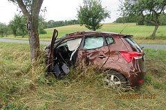 Nehoda u Trhanova.