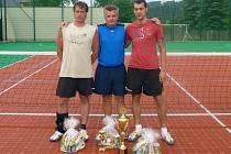 Tým Bělá, vítěz turnaje v Rybníku.